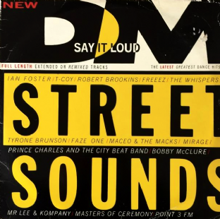 V/A - Street Sounds 87-1 (LP) (G+/G-)